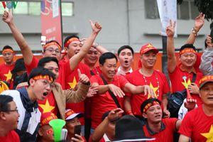 Hàng ngàn CĐV có mặt ở Philippines để tiếp lửa cho U22 Việt Nam