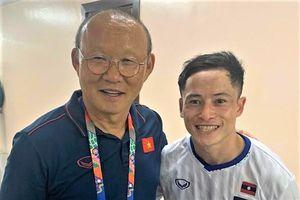 Ngôi sao Lào vui mừng khi U22 Việt Nam giành HCV SEA Games