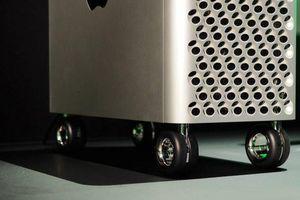 Apple bán bánh xe đẩy Mac Pro giá 400 USD