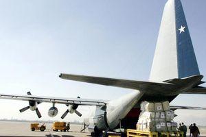 Máy bay quân sự Chile rơi khi trên đường đến Nam Cực