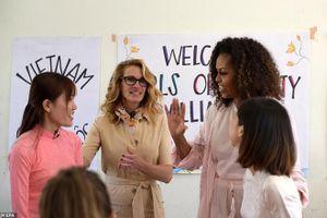 Bà Michelle Obama bất ngờ đăng video nhiều cảm xúc về chuyến thăm Việt Nam lên trang cá nhân