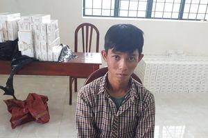 Phát hiện vụ buôn lậu thuốc lá số lượng lớn từ Campuchia vào Việt Nam