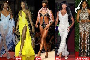 Mê mẩn sắc vóc tuyệt mỹ của siêu mẫu huyền thoại Naomi Campbell