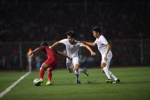Thua đậm Việt Nam, các cầu thủ U22 Indonesia thất vọng cùng cực