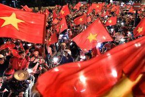 Cả nước ăn mừng chiến thắng lịch sử của U22 Việt Nam tại SEA Games 30