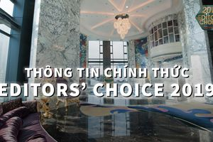 Editors' Choice Award 2019: Còn 9 ngày để tham dự lễ trao giải lớn nhất năm