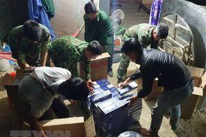 Triệt phá đường dây buôn lậu thuốc lá điếu từ Campuchia về Việt Nam
