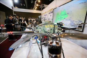 Ấn tượng triển lãm máy bay không người lái tại Hàn Quốc