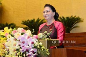 Chủ tịch Quốc hội xúc động và tự hào về thành tích Đoàn thể thao Việt Nam