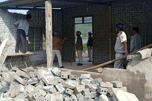 Đà Nẵng: Tháo dỡ các công trình xây trái phép chờ đền bù