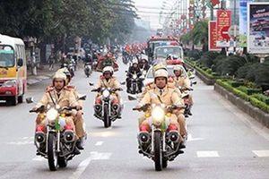 Đảm bảo an ninh trật tự, ATGT khi đón đoàn thể thao Việt Nam về nước