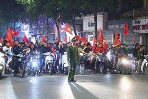 Đảm bảo an ninh, an toàn đón đoàn thể thao Việt Nam về nước