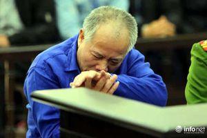 Người anh cầm dao truy sát cả nhà em trai ở Đan Phượng run rẩy, bật khóc tại tòa