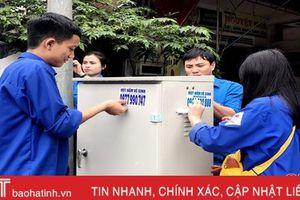 Tuổi trẻ Hà Tĩnh thi đua cao điểm chào mừng kỷ niệm 90 năm thành lập Đảng