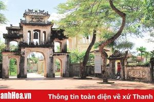Huyện Hậu Lộc bảo tồn và phát huy giá trị các di sản văn hóa