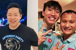 Quang Lê xót xa khi gọi điện cho Văn Hậu và biết cầu thủ trẻ đang bị thương