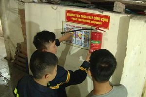 Lắp đặt thí điểm phương tiện phòng cháy chữa cháy khu phố cổ
