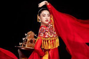 Lương Thùy Linh múa mâm ở Hoa hậu Thế giới 2019