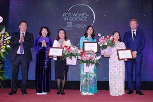 Vinh danh 3 nhà khoa học trẻ xuất sắc trong lĩnh vực Khoa học Vật liệu và Khoa học Đời sống
