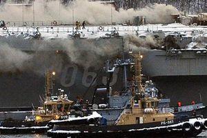 Số phận tàu Đô đốc Kuznetsov sau vụ cháy