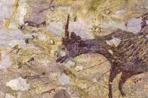 Bức tranh hang động 44.000 năm tuổi đang viết lại lịch sử nghệ thuật