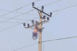 Hòa Bình: Người đàn ông tử vong sau khi trèo lên cột điện cao thế uống rượu