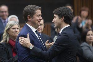 Canada: Không thể đánh bại Thủ tướng Trudeau, Lãnh đạo đảng Bảo thủ từ chức