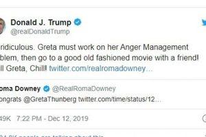 Bố con ông Trump 'tỏ thái độ' với kết quả 'Nhân vật của năm'
