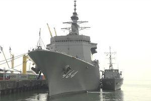 Hai tàu quét mìn của Nhật Bản cập cảng Tiên Sa