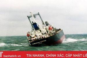 Trong ngày mai phải có phương án xử lý tàu chìm ở cảng Sơn Dương