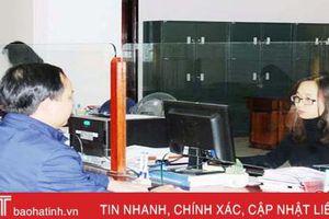 94% đơn vị ở Hà Tĩnh ứng dụng dịch vụ công trực tuyến qua kho bạc