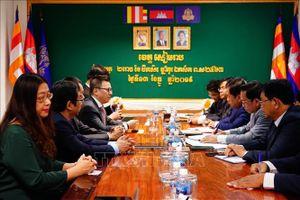 Hợp tác TTXVN và Hãng Thông tấn Campuchia đi vào thực chất, hiệu quả
