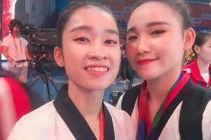 Nhan sắc khả ái của VĐV Việt Nam giành HCV Taekwondo