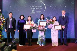 3 nhà khoa học nữ xuất sắc nhất năm 2019