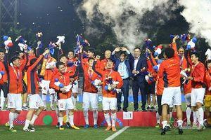 Giành chiến thắng 3-0 trước U22 Indonesia, U22 Việt Nam làm nên kỳ tích