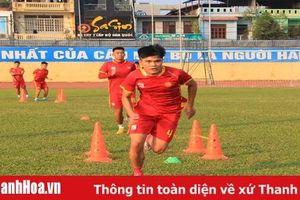 CLB Thanh Hóa hăng say tập luyện chuẩn bị mùa giải mới