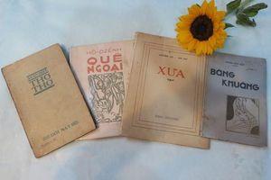 Triển lãm sách quý - đêm nhạc gây quỹ Nàng thơ thuở ấy