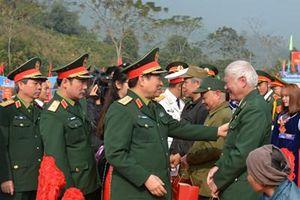Đoàn công tác Quân ủy Trung ương - Bộ Quốc phòng hành quân về nguồn và dự Ngày hội văn hóa quân dân tại Định Hóa, Thái Nguyên