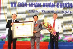 Huyện Châu Thành A, tỉnh Hậu Giang đạt chuẩn nông thôn mới