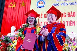 Học viện Quản lý Giáo dục tổ chức khai giảng và trao bằng Tiến sĩ, Thạc sĩ năm 2019