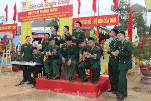 Đặc sắc hội trại của tuổi trẻ Quân đội