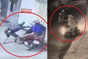 Clip: Hai vụ cướp xe, túi xách táo tợn giữa đường ở TP.HCM