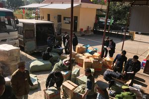 Lạng Sơn: Hai ngày bắt 5 vụ vận chuyển hàng hóa nghi nhập lậu