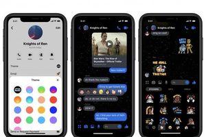 Facebook Messenger chèn theme mới với chủ để Star Wars