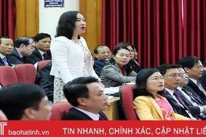 Đại biểu 'xoay' Giám đốc Sở KH&ĐT Hà Tĩnh về việc doanh nghiệp 'kêu' khó trong triển khai đầu tư