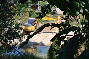Tái diễn tình trạng khai thác khoáng sản trái phép ở Vị Xuyên
