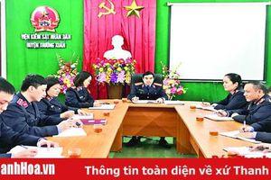 Viện Kiểm sát Nhân dân huyện Thường Xuân: Đẩy mạnh thực hành quyền công tố và kiểm sát điều tra, xét xử các vụ án hình sự