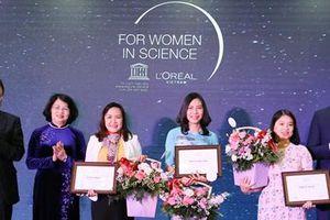 L'Oreál vinh danh các nhà khoa học nữ Việt Nam nổi bật