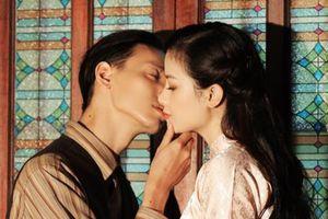 Dương Hoàng Yến khó khăn khi quay cảnh hôn