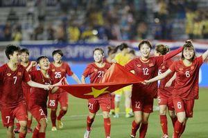 Tuyển nữ Việt Nam tăng 2 bậc, xếp hạng 32 thế giới!